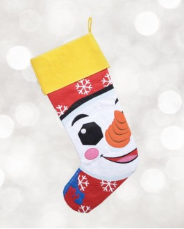 Christmas Stockings Snowman