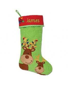 Christmas Stockings reindeer S-J