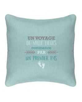 Coussin - Voyage de mille lieues...