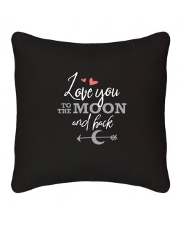 Coussin - Love you to the moon