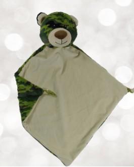 Blanket Camo Bear L-E