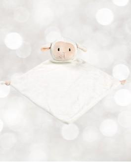 Mini doudou Mouton blanc Cubby
