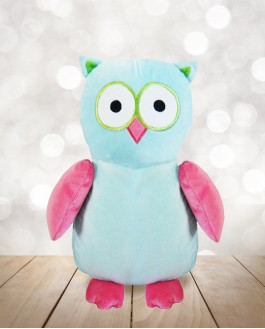 Hibou Turquoise Rose Cubby