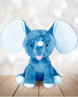 Éléphant Bleu Royal Cubby