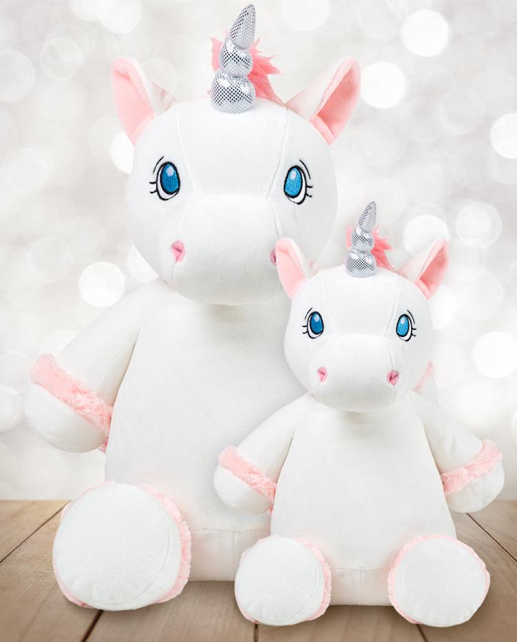 Customized Unicorn Plush Birth Present Les Cheris Minis