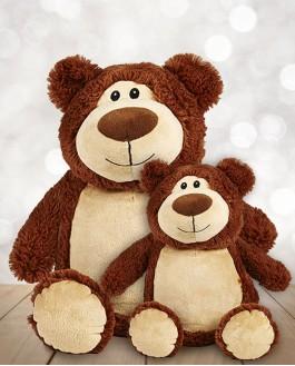 Jumbo brown Cubby bear
