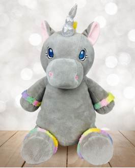 Cubby Grey Unicorn
