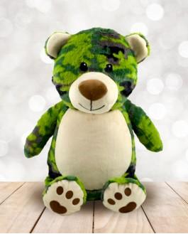Camo Bear L-E