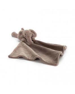 Mini Doudou Éléphant Smudge