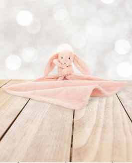 Mini Doudou lapin blush