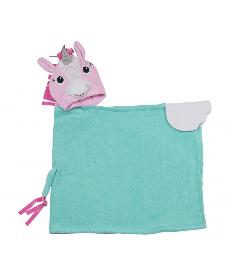 serviette de bain b b capuchon personnalis e pour enfant les ch ris minis. Black Bedroom Furniture Sets. Home Design Ideas