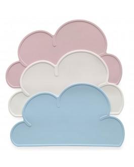 Tapis de jeu en silicone en forme de nuage  - ROSE-   DOUGH PARLOUR